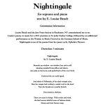 Nightingale - Info