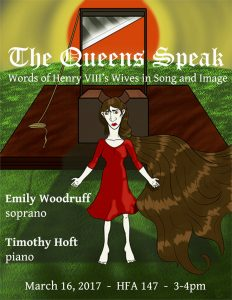 Queens Speak Concert poster